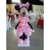 Decoración Bautizo Niña con globos y Mesas Candy