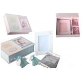 Caja regalo con huella bebé