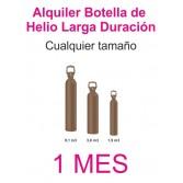 Contrato Alquiler 1 MES Botella Helio Retornable