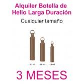 Contrato Alquiler 3 MESES Botella Helio Retornable