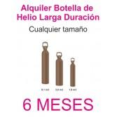 Contrato Alquiler 6 MESES Botella Helio Retornable