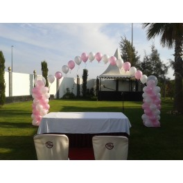 Decoración ceremonia boda exterior
