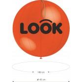 1000 Globos Punch Ball 45cm. 1C-1T